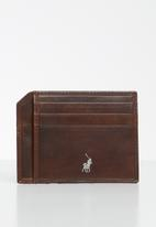 POLO - Etosha wallets cc wallet w top pocket - brown