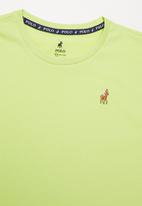 POLO - Boys rick tee - lime