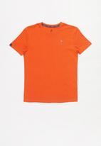 POLO - Rick short sleeve tee - orange