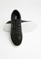 POLO - Bently quilted sneaker - black