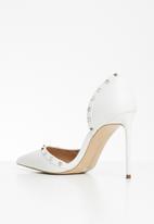 Steve Madden - Viyana court - white leather