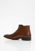 POLO - Corey elasticated boot - brown