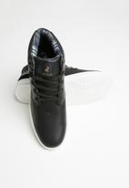 POLO - Leather casual boot - black