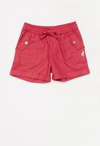 POLO - Girls audrey short - red