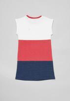 POLO - Girls sophia colour blocked dress - multi