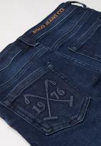 POLO - Boys jude slim fit jean - blue