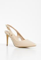 POLO - Nicole slingback strap court - neutral