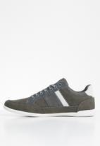 POLO - Benjamin side flash sneaker - grey