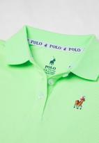 POLO - Girls Dakota golfer dress - green