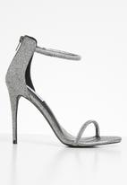Steve Madden - Rapture-c heel - silver