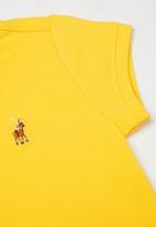 POLO - Girls Dakota golfer dress - yellow