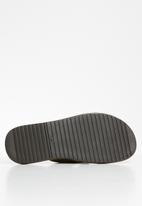 POLO - Alex leather thong sandal - brown