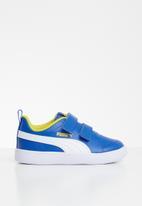 PUMA - Courtflex v2 v inf - blue