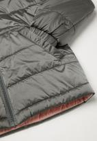 POLO - Girls Gianna long sleeve puffer jacket - grey