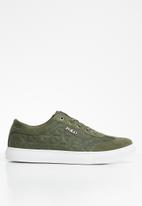 POLO - Bently quilted sneaker - olive