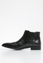 POLO - Corey elasticated boot - black