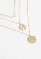 Superbalist - Saffron layered necklace-gold