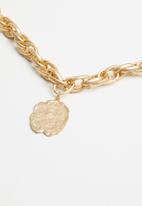 Superbalist - Chain pendant necklace-gold