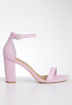 Cotton On - San square toe heel - lilac