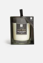 H&S - Lush figwood candle - sweetgrass & dandelion