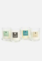 H&S - Lush figwood candle - yellow