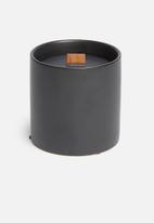 Paju Design Belgium - Dark classic matte candle - black