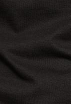 G-Star RAW - Oluv slim short sleeve polo  - black