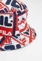 FILA - All over print bucket hat - multi