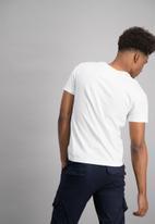 Aca Joe - Mens aca joe short sleeve t-shirt - white