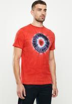 Ben Sherman - Tie dye target - red