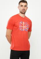 Ben Sherman - Flag tee - red