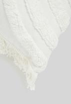 Linen House - Daybreak cushion cover paprika - cream
