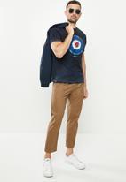 Ben Sherman - Tie dye target - navy
