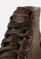 G-Star RAW - Garber derby boot  - dk brown