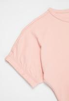 Superbalist - Elasticated sleeve oversized tee - pink