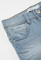 name it - Salli denim shorts - blue