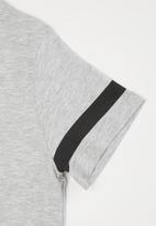 MANGO - Minimal short sleeve tee - grey