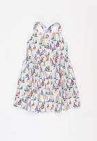 Sticky Fudge - Girls tea dress - multi