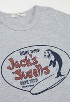 Sticky Fudge - Jack swell's tee - grey
