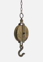 H&S - Plant pot pulley - vintage