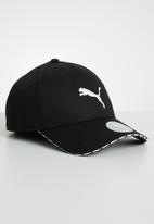 PUMA - Puma visor cap - black