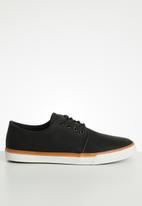 Tom Tom - M luciano sneaker - black