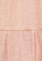 MILLA - Babydoll mini dress - pink