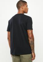 Quiksilver - Check yo self short sleeve tee - black