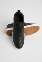Tom Tom - Mono sneaker - black & white