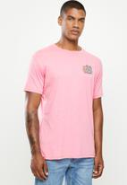 Billabong  - Mondo short sleeve tee - pink