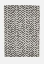 Hertex Fabrics - Chevy woven outdoor rug - dolphin