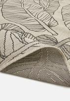 Hertex Fabrics - Oasis woven outdoor rug - linen