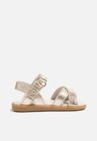 shooshoos - Beaumont sandal - gold