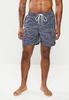 Rip Curl - Wavey volley - navy & white